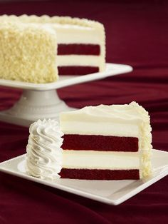 Products we love - but can't buy in Canada.  The Cheesecake Factory