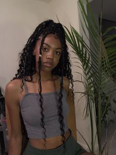 Schwarze Mädchen Frisuren 2018 Hair Style Girl braids for little black girl hair style Faux Locs Hairstyles, Braided Hairstyles For Black Women, My Hairstyle, Ponytail Hairstyles, Hairstyle Ideas, Gorgeous Hairstyles, Goddess Hairstyles, Protective Hairstyles, Hairstyles 2018