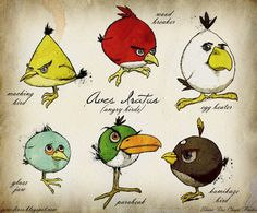 Wouldn't it be great if video games actually looked like this? Angry Birds