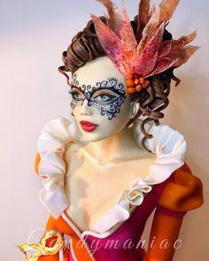 Masquerade lady - S.W.C.Collab - Cake by Mania M. - CandymaniaC