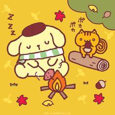 Sanrio: Pompompurin:)