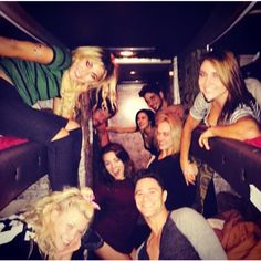Tour life! Love you guys! #dwtstour @dancingabc :@keo_motsepe