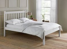Buy Silbury Kingsize Bed Frame-Solid Pine With Whitewash Effect at Argos.co.uk, visit Argos.co.uk to shop online for Bed frames
