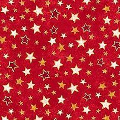 Winter Magic Stars Red