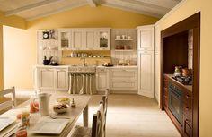 Έπιπλα κουζίνας απο την Gruppo Cucine, ιταλικα επιπλα κουζινας και κουζινες, ντουλαπες υπνοδωματιων, κουζινα, ιταλικες κουζινες, kouzines, μοντερνες κουζινες, σχεδια, τιμες, προσφορες, κλασσικες (κλασικες) κουζινες Classic Kitchen Furniture, Kitchen Decor, Sweet Home, Kitchen Cabinets, Interior Design, Aurora, Yellow Kitchens, Home Decor, Decoration