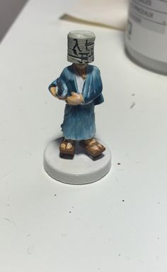 One of the Tokaido characters painted by Chantal Noordeloos