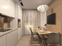 """Кухня: купить готовый дизайн-проект в стиле """"Скандинавский"""" - ReRooms"""