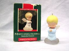 Vintage 1989 Hallmark Keepsake MARY'S ANGELS-BLUEBELL 2nd in Series Ornament by MermeowTreasures on Etsy, $30.00