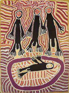 Linda Syddick Napaltjarri   Three Wise Men