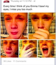 And this teen who was left heartbroken by Emma: | 23 Teens That Just Really Shouldn't Be Allowed To Teen