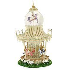 Mary Poppins Carousel Disney Snowglobe
