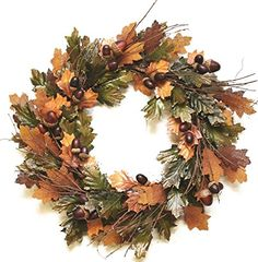 "20"" Autumn Harvest Decorative Brown and Green Artificial ... https://www.amazon.com/dp/B01HJ0QTRQ/ref=cm_sw_r_pi_dp_x_ZxC1ybQ7Y4CWB"
