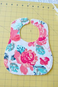 I like to make baby gifts for friends and family member's new babies. I've made a number of bibs over the years and have used this pattern a lot. But recently I have tinkered with my …