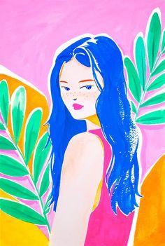 Jungle Gardens, Animal Alphabet, Pink Room, Joy And Happiness, Aesthetic Iphone Wallpaper, Digital Illustration, Art Inspo, The Dreamers, Deco
