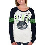 Seattle Seahawks Women's Roll Out Thermal – College Navy/White It's Saturday in real life, but it's still Black Friday at Fanatics! Save 25% + free shipping on orders over $50! Use code: BLKFRI