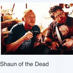 Shaun of the Dead: love this couple <3