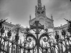 Infrared Photography, Online Contest, Art Nouveau Architecture, Amazing Buildings, Gaudi, Fine Art America, The Good Place, Barcelona, Spain