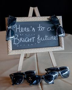 Getting married during a very sunny time of day? Provide sunglasses for your guests as your wedding favors! . . . . . #rvaweddings #richmondweddings #strousephotography #strousephoto #rvaweddingphotographers #richmondweddingphotographers #uniqueweddingfavors #strousephototip #sunglasses #iwearmysunglassesatnight #herestoabrightfuture #weddingdayideas