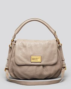 My new neutral bag! Not too big, not too small, but just right MARC BY MARC JACOBS Satchel - Classic Q Lil Ukita