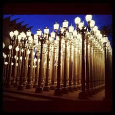 LACMA - I've always wanted to go to this muesum and take pictures with the lamp posts. I even live near downtown, I have no excuse why I haven't been!