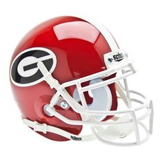 Georgia Bulldogs NCAA Authentic Mini 14 Size Helmet