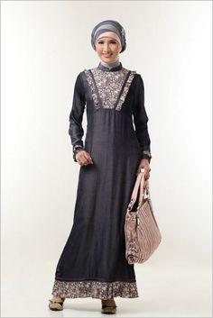 9 Model Baju Batik Gamis Kombinasi Terbaru - Batik Kebaya f201f6a567