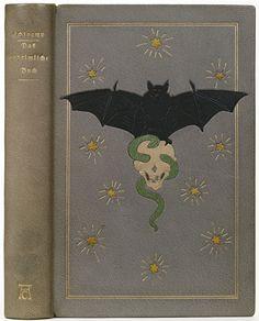 Das unheimliche Buch, 1914.  Binder: Karl Ebert.