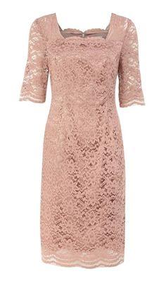 House of Fraser Kaliko Peach lace dress on shopstyle.co.uk