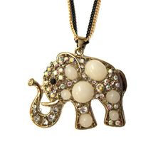 Stone-Elephant-Necklace