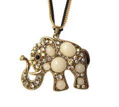 Stone-Elephant-Necklace