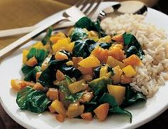 Curried Greens