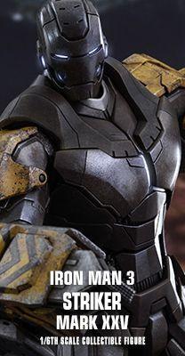 Iron Man 3 - Striker (Mark XXV) 1/6th scale Collectible Figure