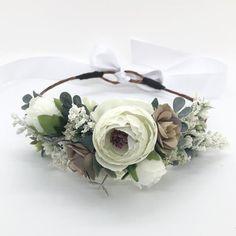 boho dog flower crown dog flower collar flower crown pampas grass  flower wreath dog flower wreath Pampas Dog flower collar