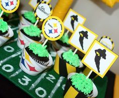 Football/Steelers Sports Party Party Ideas | Photo 1 of 13