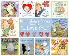 "10 Children's Books to say ""I Love You!"" via momendeavors.com"