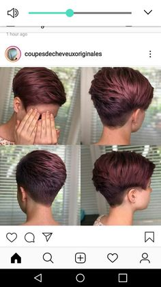 Pin on Hair Color Cute Hair Color Source Long Pixie Cut Source Silver Pixie Cut Source Layered Pixie Cut Source Long Pixie Layered Pixie Cut, Long Pixie Cuts, Short Hair Cuts For Women, Chic Short Hair, Short Hair Styles, Short Black Hairstyles, Cute Hairstyles, Pixie Haircut For Thick Hair, Cute Hair Colors