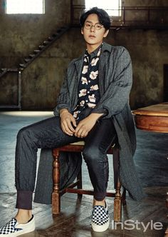 Asian Boys, Asian Men, Asian Actors, Korean Actors, Kwak Si Yang, Kang Haneul, Nam Joohyuk, Star Magazine, Gong Yoo