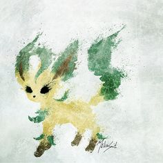 Leafeon by BOMBATTACK