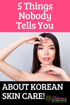 Korean Skincare - Skin Tight Naturals Korean Skincare - 5 Things Korean Women Do Differently For Glowing Skin. These Korean Skincare tips can help make your skin flawless over time. Beauty Secrets, Beauty Hacks, Beauty Tips, Skin Secrets, Beauty Care, Beauty Products, Crepe Skin, Banana Face Mask, Face Mapping