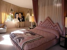 Elvis Honeymoon Hideaway, 1350 Ladera Circle, Palm Springs, CA 92262. Tripadvisor review: A great experience - the Priscilla impersonator was fantastic and brought the whole house to life. She was super enthusiastic and lovely. You get to sit on Elvis's sofa, Elvis's bed and in his bathtub! You get a great tour around a fabulous house too!