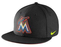 Hyperized Marlins Snapback Cap by NIKE x MLB