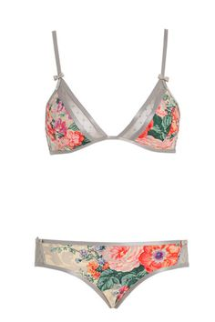 Zimmermann Devoted Triangle Bra Bikini I love all his swimwear....too bad I would have to sell a kidney to afford it