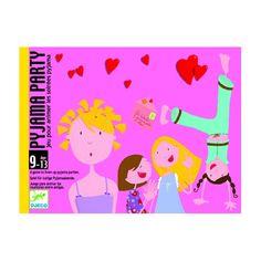 Pyjama Party - kommunikáció és személyiségfejlesztő kártya 8 éves kortól - Djeco Family Guy, Fictional Characters, Pajamas, Gaming