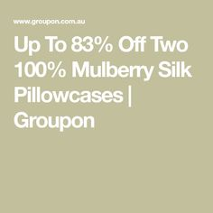 Up To Off Two Mulberry Silk Pillowcases Bed Hair, Live Coral, White Ducks, White Gift Boxes, Mulberry Silk, Down Pillows, Pillowcases, Bag Storage, Pillow Case Dresses