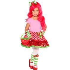 Child Strawberry Shortcake Costume Kit - Party City  sc 1 st  Pinterest & 15 best Strawberry Shortcake Costume Ideas images on Pinterest ...