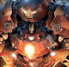 Iron Man in Hulk Buster