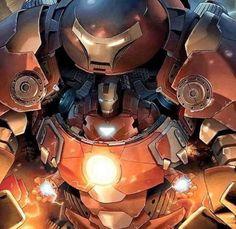 Iron Man in Hulk Buster