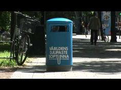 The world's deepest bin - making it fun to recycle trash and incite behaviour change - Fun Theory