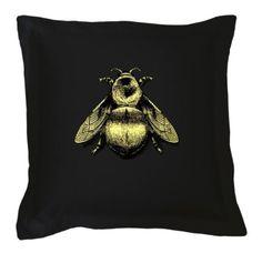 Napoleon Bee cushion from www.timorousbeasties.com