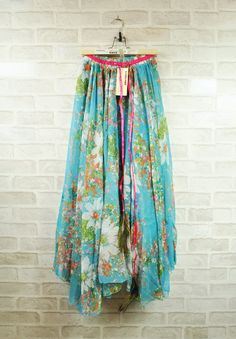 Bohemian Peacock chiffon dress~-FashionTheBox.Com
